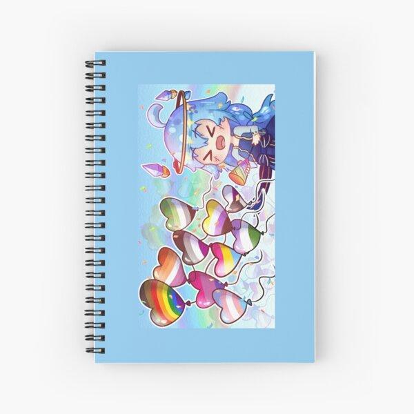 AeEmoji Pride Banner Spiral Notebook