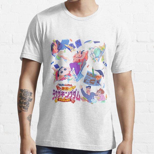 Logotipo de Crayon Shin-chan Camiseta esencial