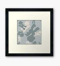 Brony Military Air Force Camo Framed Print