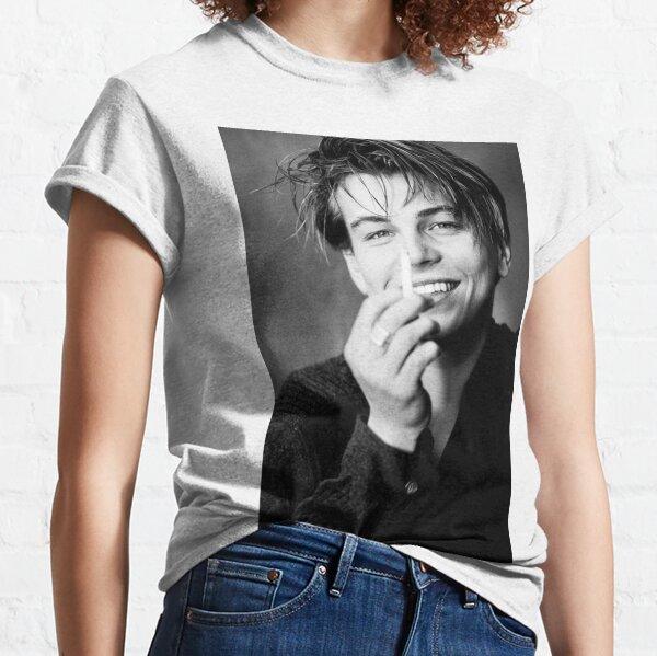 leonardo dicaprio Camiseta clásica