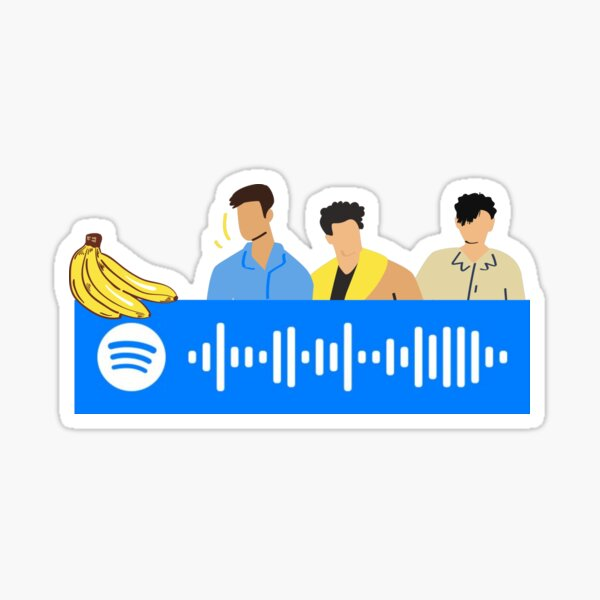 """""""Too Late"""" The Happy Fits song code Sticker"""