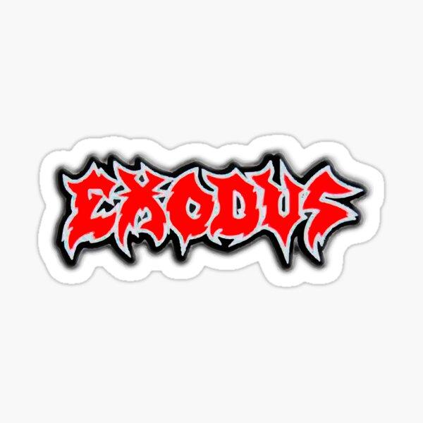EXODUS Sticker