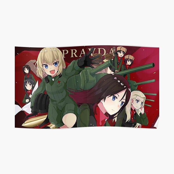 Girls Und Panzer poster Poster
