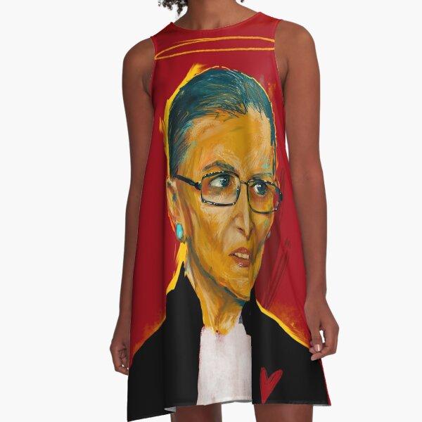 A loving tribute to RBG A-Line Dress