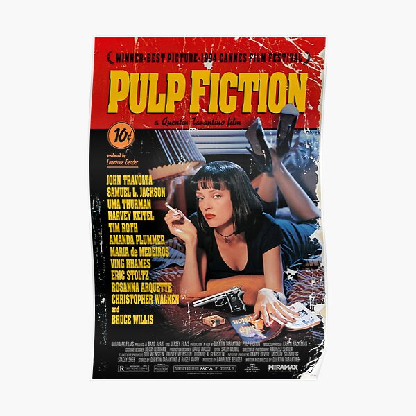 Pulp poster (HD) Poster