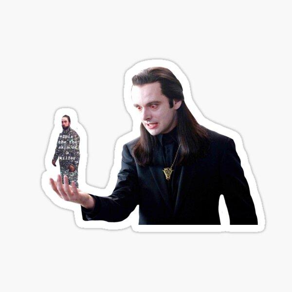 Aro hält Dazzle BOI Sticker