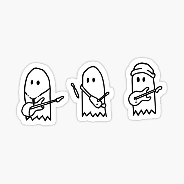 Julie and the Phantoms - Sunset Curve Band 3 Boys HD (Sticker and more) Sticker