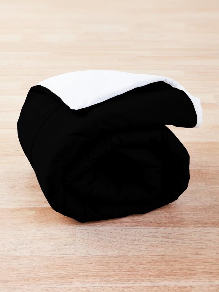 Alternate view of Nonbinary D20 Dice Nonbinary Pride Comforter