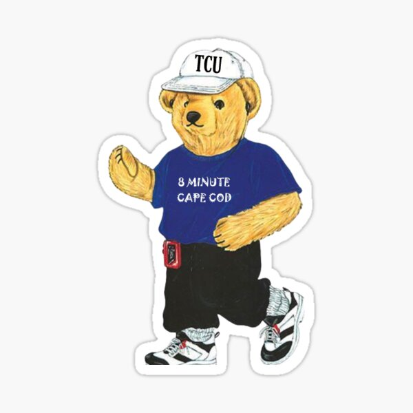 tcu bear Sticker