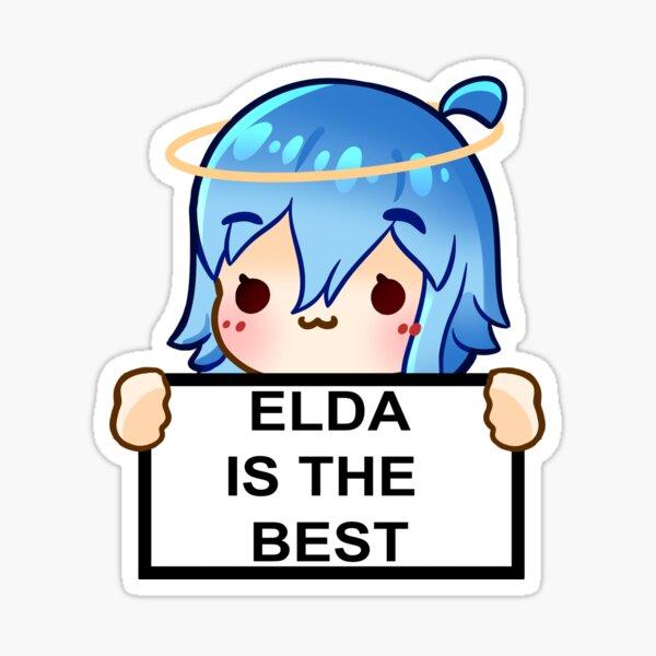AeEmoji Elda The Best Sticker