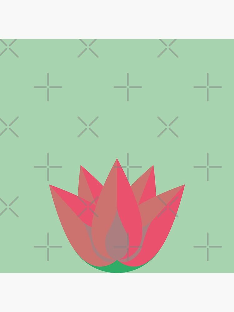 zen pink lotus by a-golden-spiral