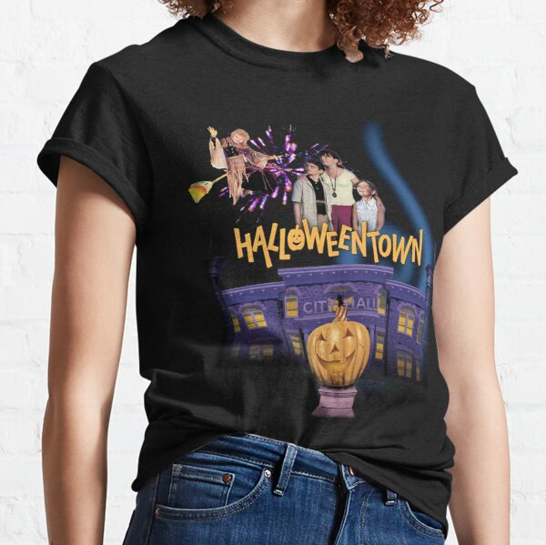 HalloweenTown Gift For Fans, For Men and Women, Gift Halloween Day, Thanksgiving, Christmas Day Classic T-Shirt