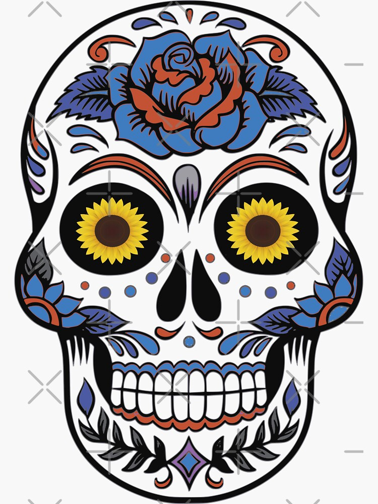 Floral Skull Halloween Theme by chanzds