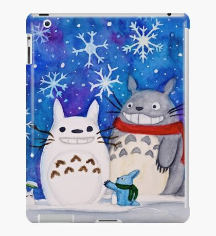 Totoro Winter Wonderland  iPad Case/Skin