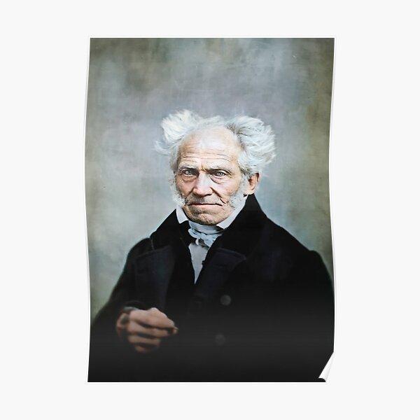 Arthur Schopenhauer, 1859. Poster