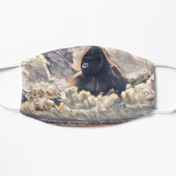 Harambe Gorilla Flache Maske