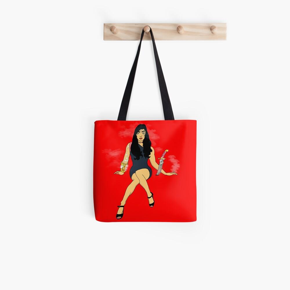 Samantha Cyber Tote Bag