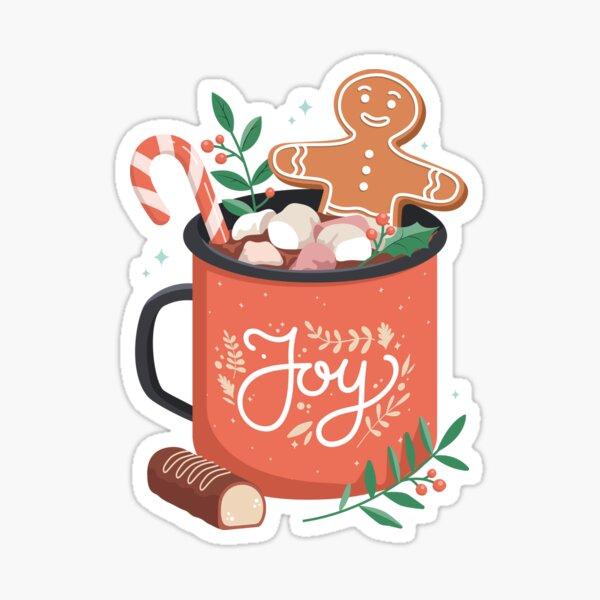 HOT COCOA CHRISTMAS Sticker