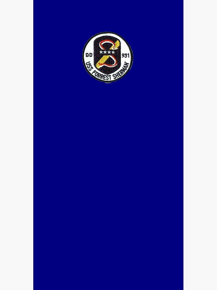 USS FORREST SHERMAN (DD-931) SHIP'S STORE by militarygifts