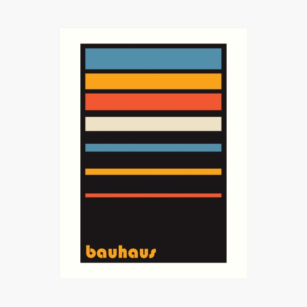 Bauhaus #17 Art Print