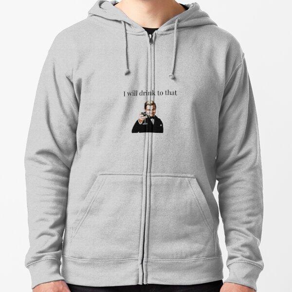 Best Leonardo DiCaprio Meme T-Shirt Zipped Hoodie