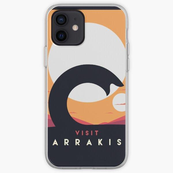 Dune 2020 Visit Arrakis Sandworm iPhone Soft Case