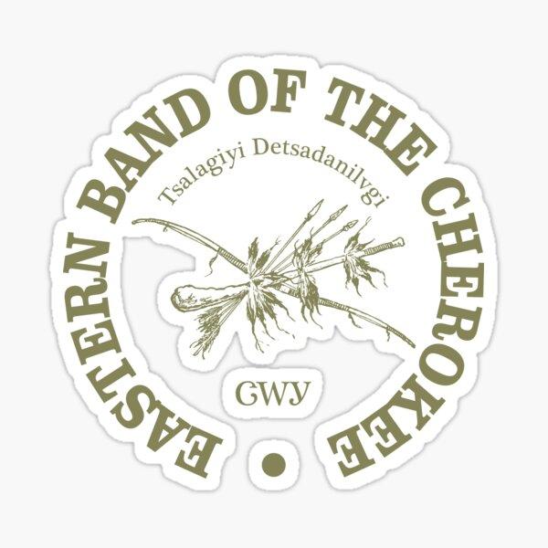Eastern Band of the Cherokee (NA) Sticker