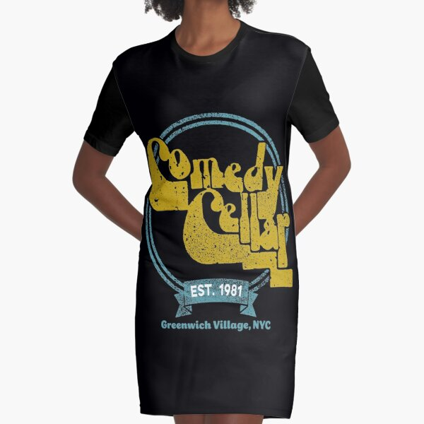 The Comedy Cellar Graphic T-Shirt Dress