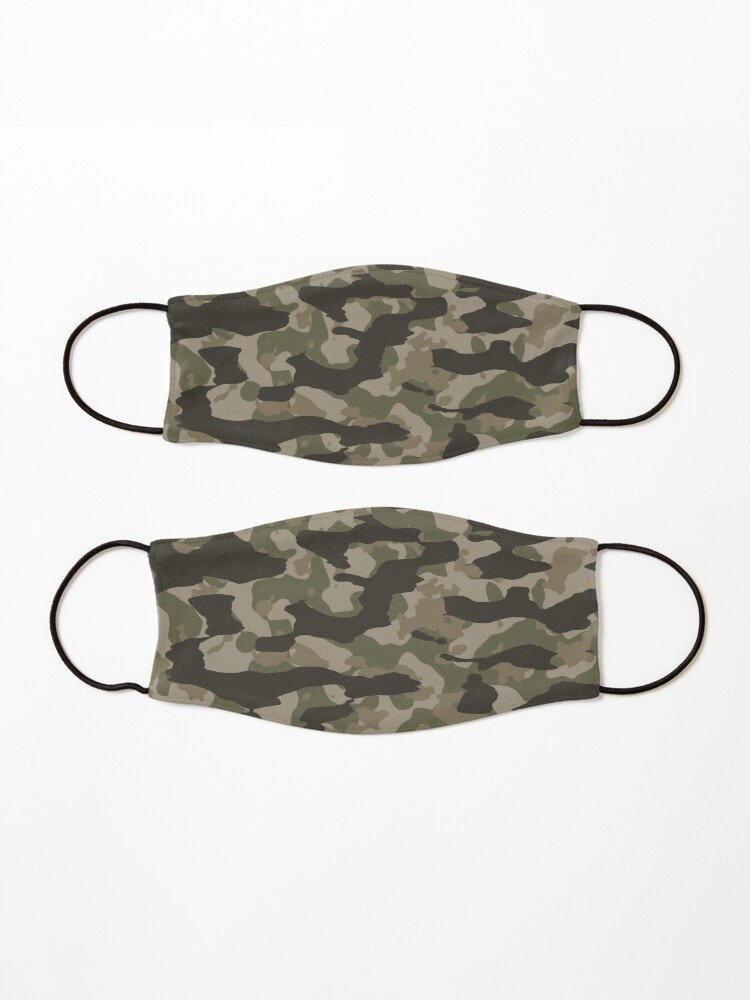 Alternate view of Green Camo Mask