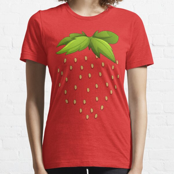 Strawberry Halloween costumes Lazy easy funny 2020 | Strawberry halloween costumes funny| masks Strawberry easy halloween costumes  Essential T-Shirt