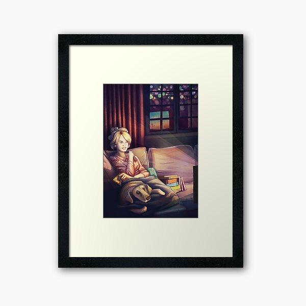 Binge Watching Framed Art Print