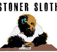 Stoner Sloth stylised by Dylan DeLosAngeles