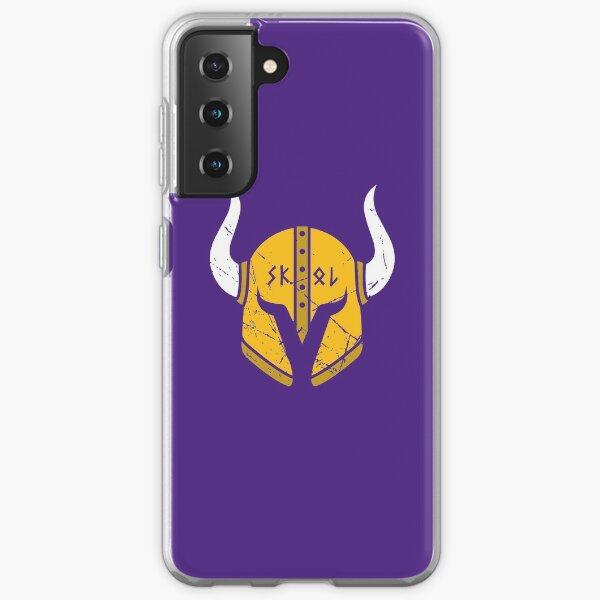 Casque Minnesota Vikings Skol Coque souple Samsung Galaxy