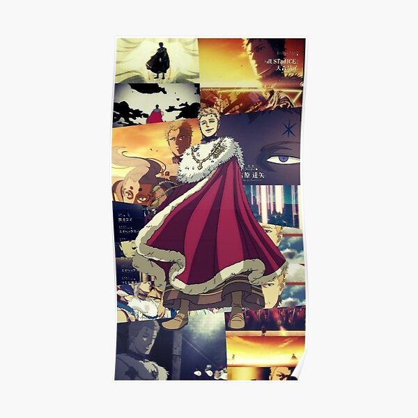 Julius Novachrono Posters Redbubble Julius novachrono is the current wizard king and was the former strongest magic knight in the clover kingdom. redbubble