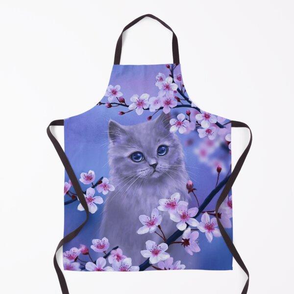 Spring kitten Apron