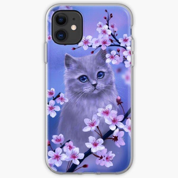 Spring kitten iPhone Soft Case