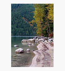 Chilliwack Lake Shoreline Photographic Print