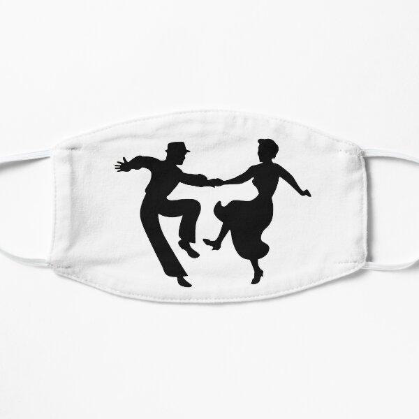 Swing Dance Couple Flat Mask