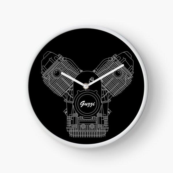 Moto Guzzi Motor Clock