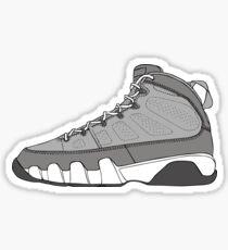 J9 - Cool Gray Sticker