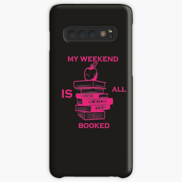 sorry my weekend is all booked t-shirt Samsung Galaxy Snap Case