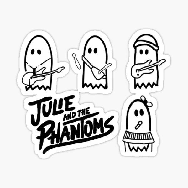 Julie und die Phantome lauwarm Sticker