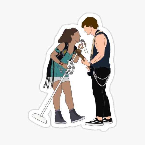 Julie and Luke  Sticker