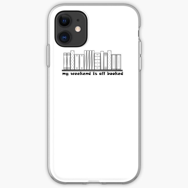 sorry my weekend is all booked classic  T-shirt iPhone Soft Case