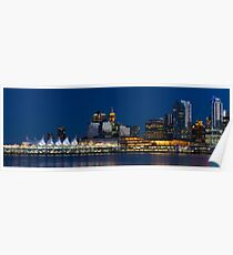 Downtown Vancouver Skyline Poster