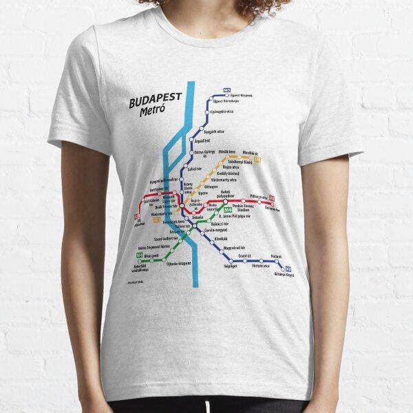 BUDAPEST metro network Essential T-Shirt