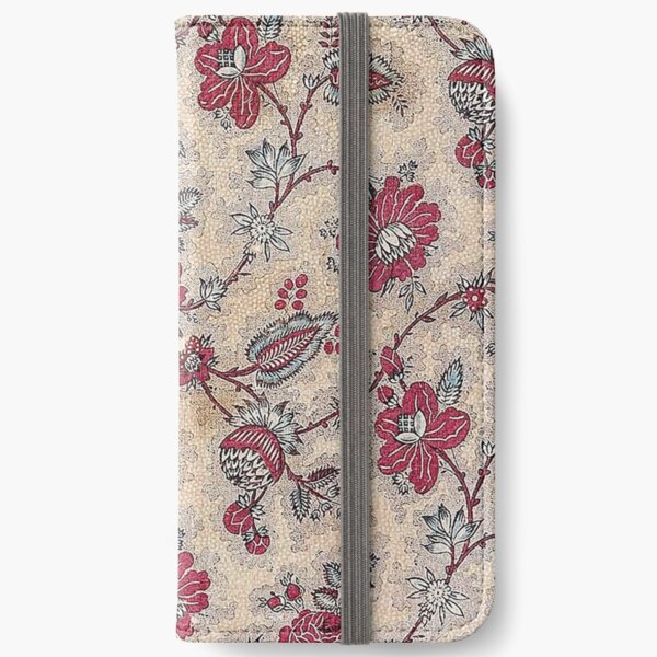 Vintage French Textile (ca. 1800s) from Museum of Fine Arts Boston iPhone Wallet