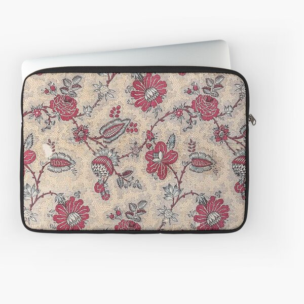 Vintage French Textile (ca. 1800s) from Museum of Fine Arts Boston Laptop Sleeve