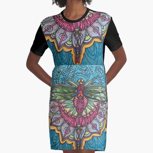 Mesmerizing Graphic T-Shirt Dress