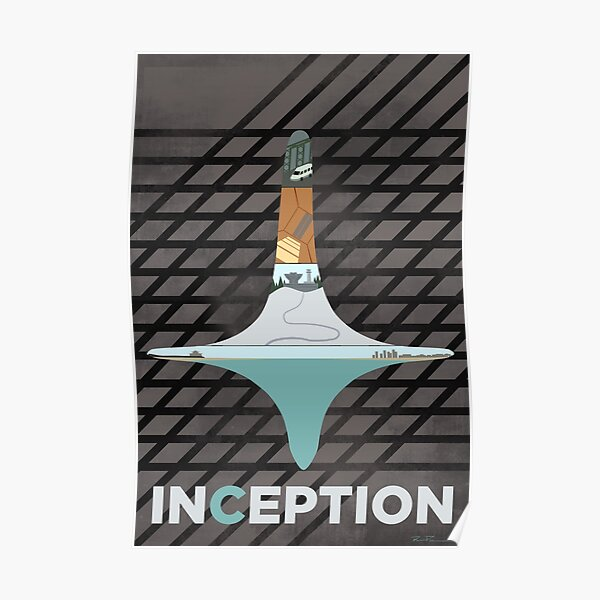 INCEPTION - Minimal Fan Art Poster Poster